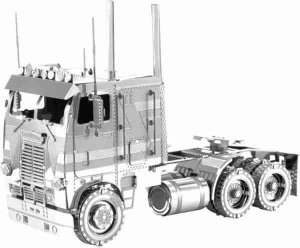 Metal Earth Modelbouw 3D Freightliner COE (Cab Over Engine)