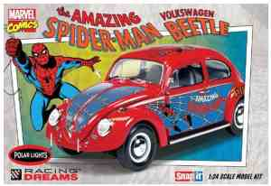 POLAR LIGHTS Volkswagen Beetle Amazing Spiderman