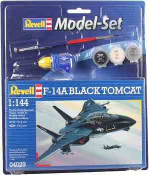 Revell Model Set F-14A Black Tomcat