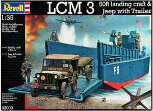 Speelgoed | Model Kits - D-Day Set(Lcm3 & 4x4 Off Road Ve (03000)