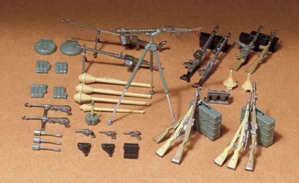 Tamiya German Infantry Weapons Set