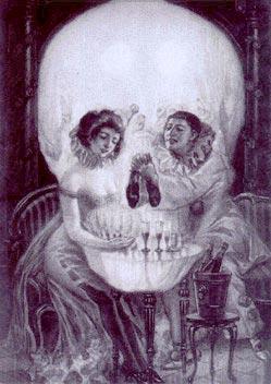 Skull illusion
