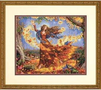 Fall Fairy - Cross Stitch Kit