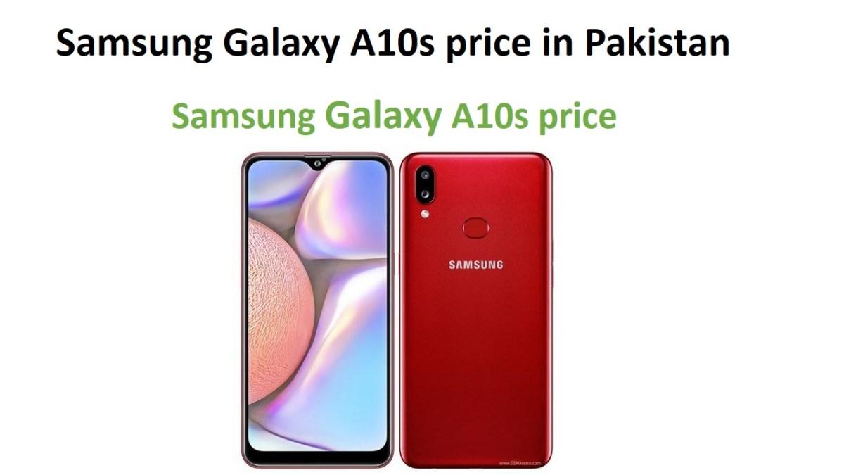 Samsung Galaxy A10s price in Pakistan