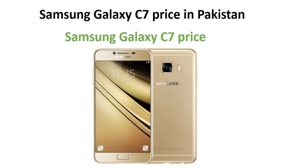 Samsung Galaxy C7 price in Pakistan