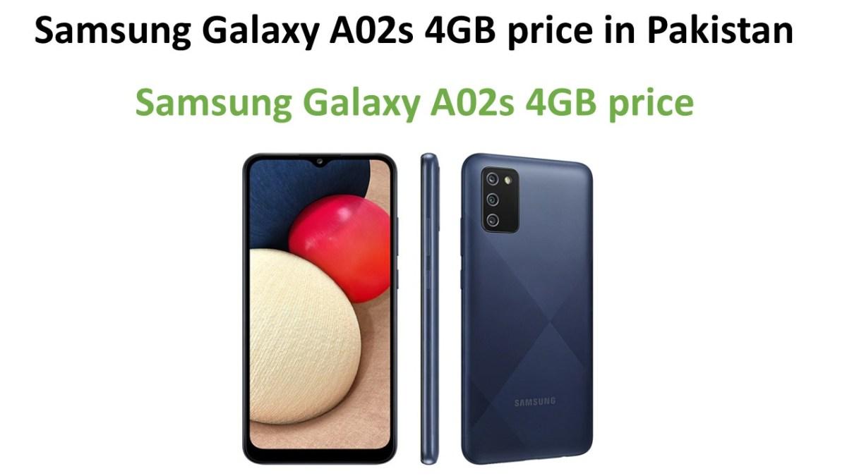 Samsung Galaxy A02s 4GB price in Pakistan