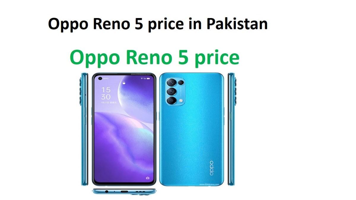 Oppo Reno 5 price in Pakistan