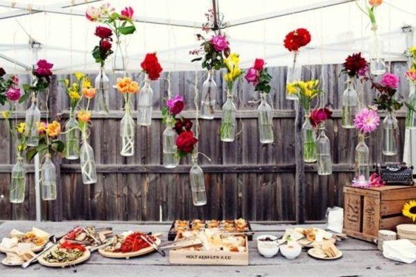 Backyard Wedding Decor