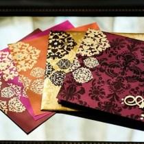 Indian Wedding Invitation Cards-123WeddingCards