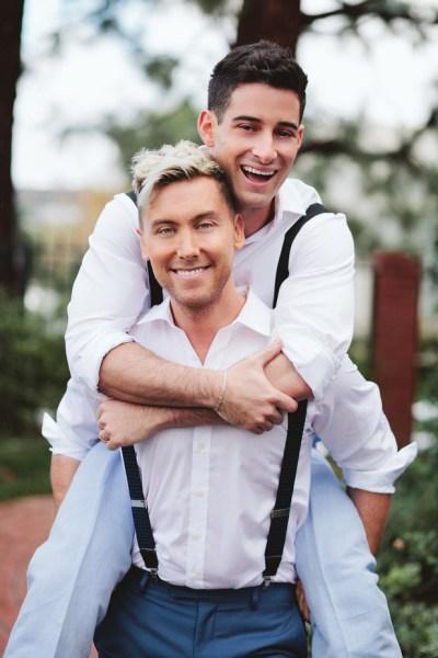 Lance Bass and Michael Turchin wedding - 123WeddingCards