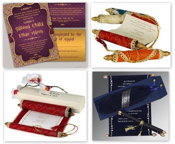 Arabian Night Wedding Theme Invitations- 123WeddingCards