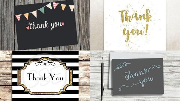 Handwritten Thank You- 123WeddingCards