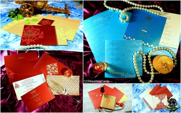 Valentine wedding invitations - 123WeddingCards