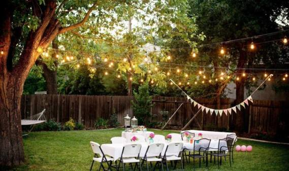 Back Yard Wedding | 123WeddingCards