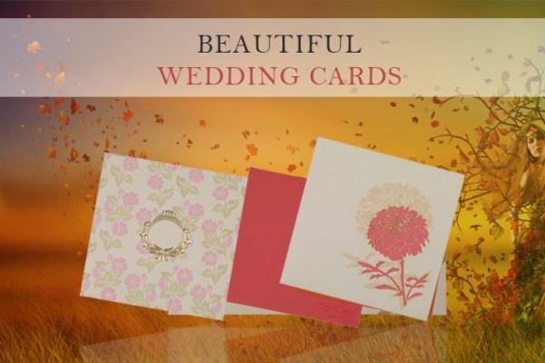 Gorgeous Wedding Cards | 123WeddingCards