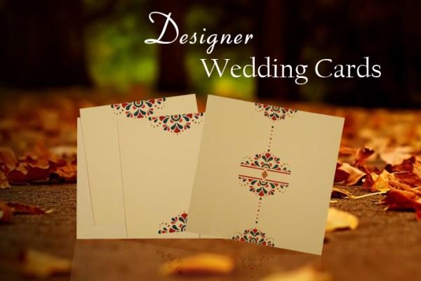 Designer Wedding Cards | 123WeddingCards