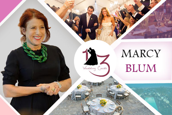 Marcy Blum | 123WeddingCards