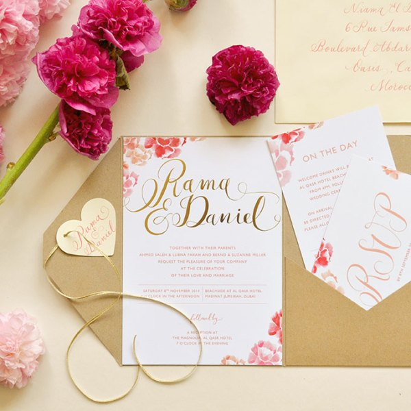 Romantic Invitations | 123WeddingCards