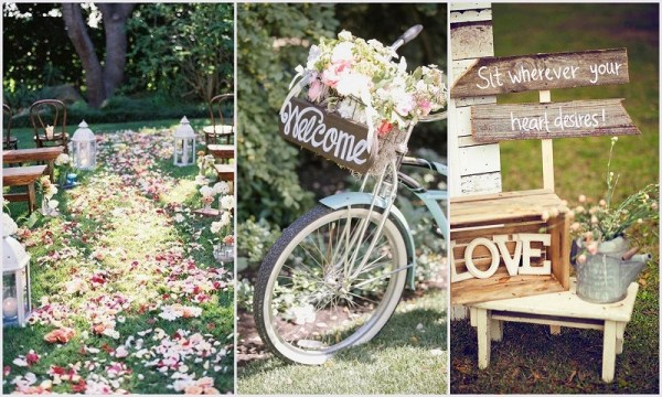 Beautiful Backdrop - Spring Theme Weddings
