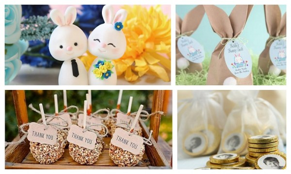 Easter Themed Wedding Favours