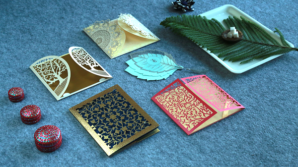 Hindu Wedding Invitations - 123WeddingCards