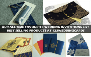 Our Best Selling Products - 123WeddingCards
