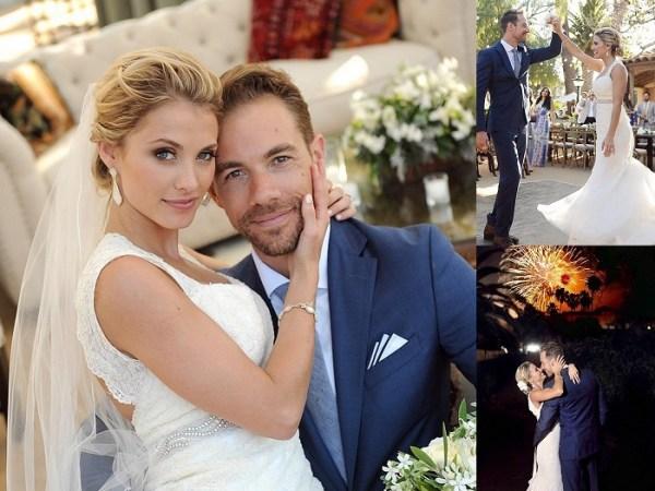 Tim Lopez & Jenna Reeves - 4th Of July Wedding - 123WeddingCards