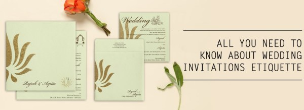 Wedding Invitations Etiquette Questions Answered