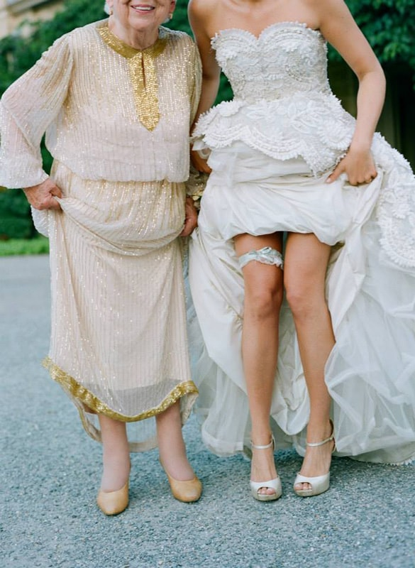 Which leg is right to wear the garter - 123WeddingCards
