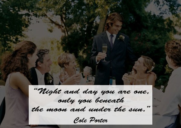 Great Quotes to Use as Wedding Toast 10 - 123WeddingCards