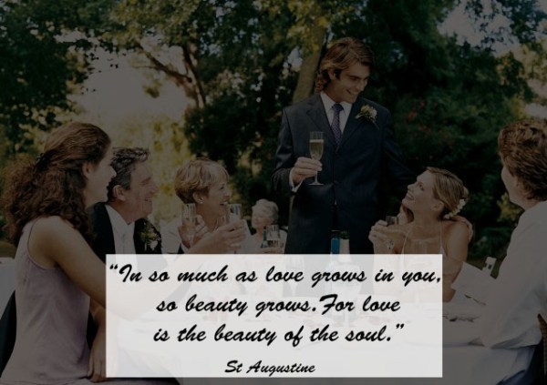 Great Quotes to Use as Wedding Toast 4 - 123WeddingCards