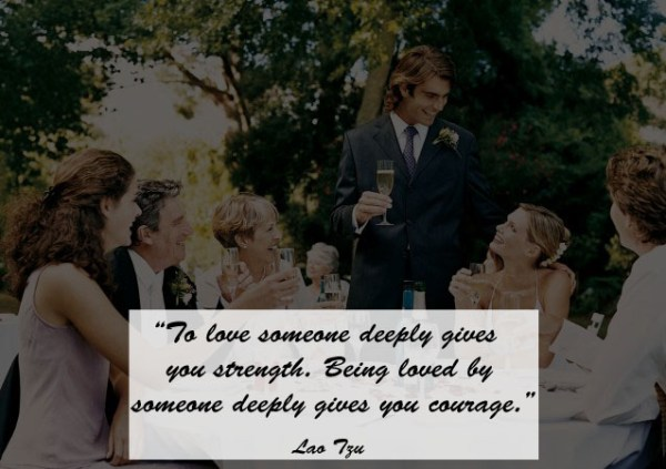 Great Quotes to Use as Wedding Toast 5 - 123WeddingCards