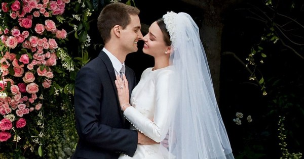 Miranda Kerr and Evan Spiegel wedding
