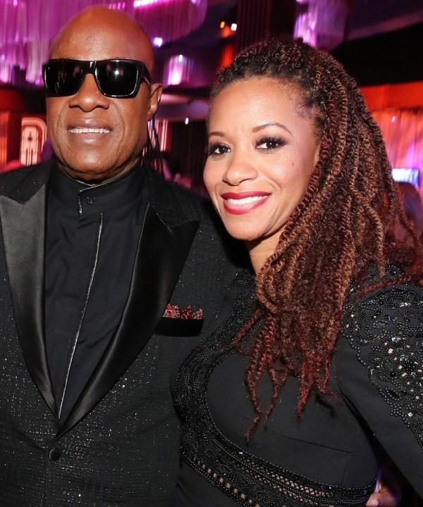 Stevie Wonder and Tomeeka Robyn Bracy wedding