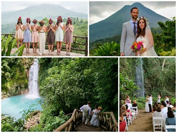 wedding destinations Costa Rica suggest by 123WeddingCards