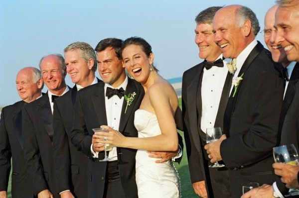 An ultimate wedding party