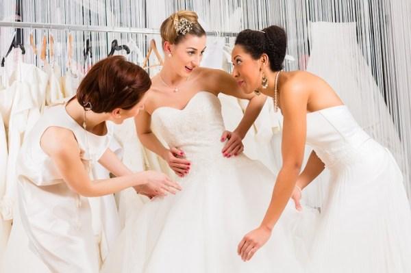 Decide your wedding dress