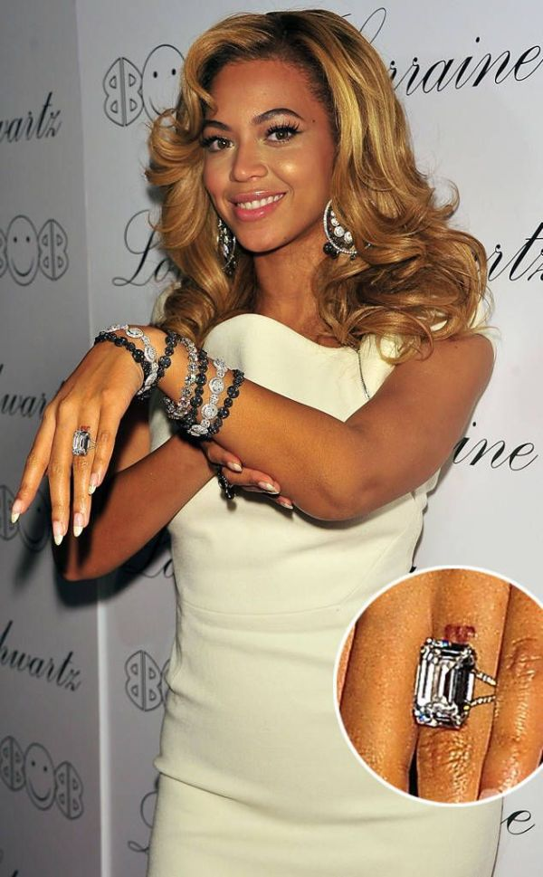 Beyonce & Jay Z engagement ring