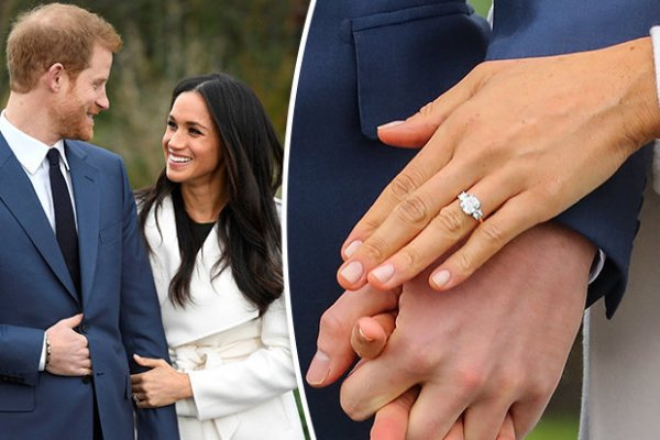 Meghan Markle & Prince Harry engagement ring