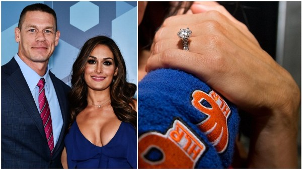 Nikki Bella & John Cena engagement ring