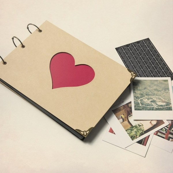 Romantic Scrapbook as a Gift