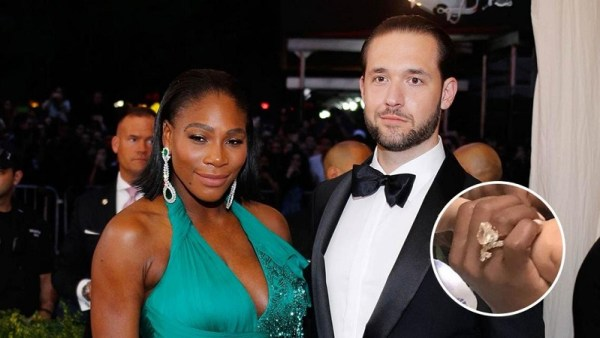 Serena Williams & Alexis Ohanian engagement ring