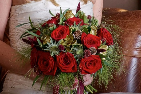 Christmas Flower Bouquet for Perfect Heyday