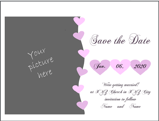 Almost Adults-Wedding Invitation(123WeddingCards)