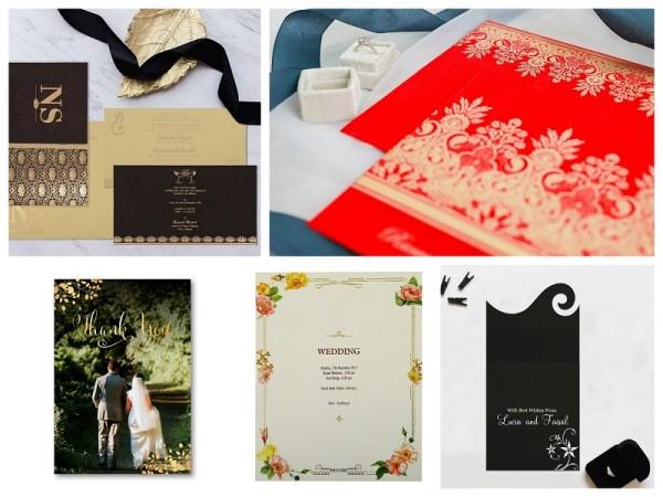 Wedding Invitation Designs Inspired by Hollywood Movie - 123WeddingCards