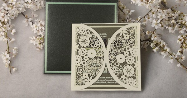 Flap Wedding Invitatons