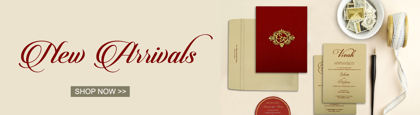 New Arrivals by 123WeddingCards