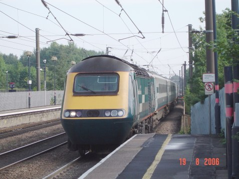 43045 seen arriving into Durham with the 0940 Newcastle - Newquay service (c) Alex Wood