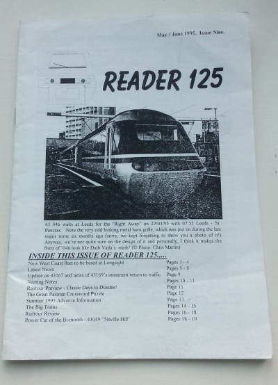 'Reader 125' – Early Editions – 1994 to 2000