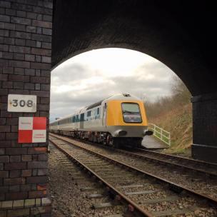 41001 seen at Rushcliffe Halt on 24th Feb 2016 (c) Dave Mulligan